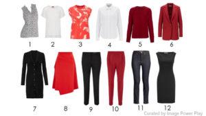 12 Key Pieces for Capsule Wardrobe